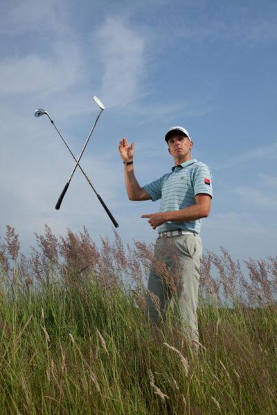 Animation en journée entreprise pour démonstration de golf
